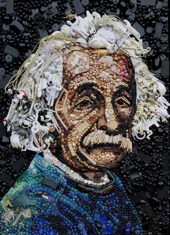 Bekende Oude Kunstenaars.Gedetailleerde Bekende Figuren Van Knopen En Andere Oude