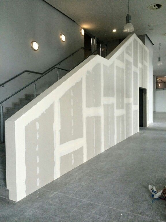 Treppengelnder Trockenbau  Diele  Flur  Treppe in 2019