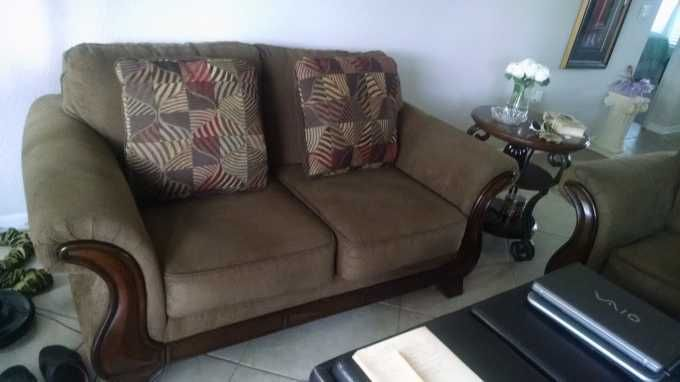 2 Matching Ashley Love Seats Villages4sale Love Seat Seating Home More