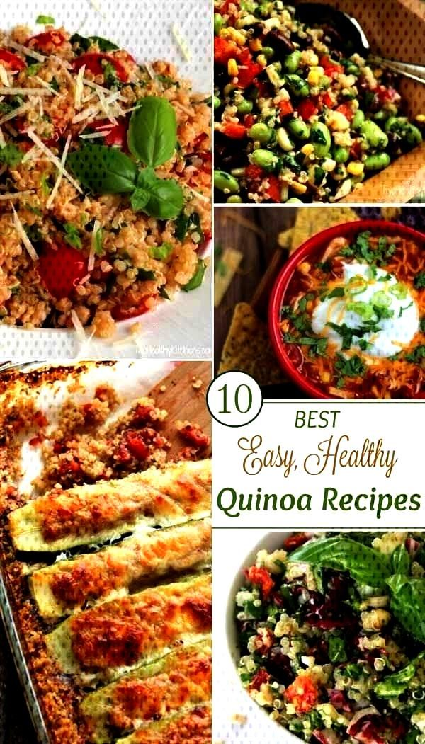Healthy, Easy Quinoa Recipes - Two Healthy Kitchens - Tried-and-True Favorite Recipes! These Healt