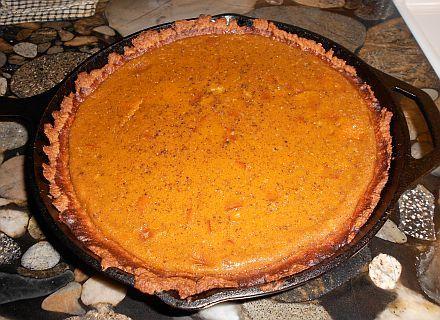 Cast Iron Pumpkin Pie Some good ideas in this recipe