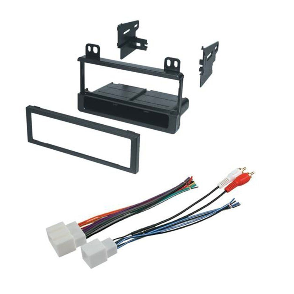 ford 1995 2005 explorer all models car radio stereo radio kit dash installation mounting wiring harness [ 1000 x 1000 Pixel ]