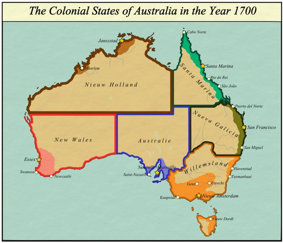 Show A Map Of Australia.Click This Image To Show The Full Size Version Maps Map