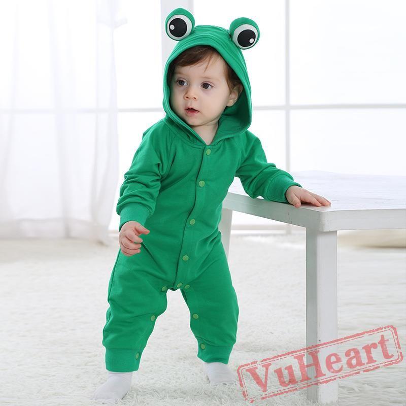 2238728555b3 Baby Cute Frogs Onesie Costume - Kigurumi Onesies
