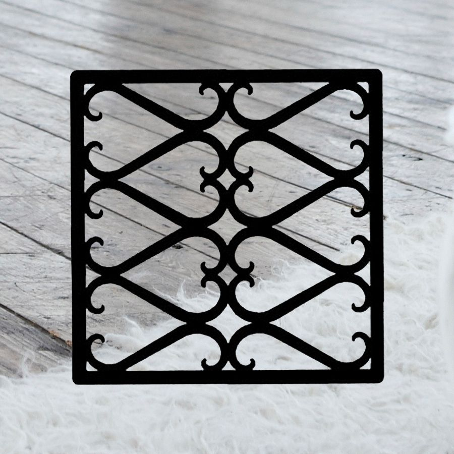 Iron Decorative Wall Pieces This Decorative Wrought Iron Wall Art Piece Style 209 Features A