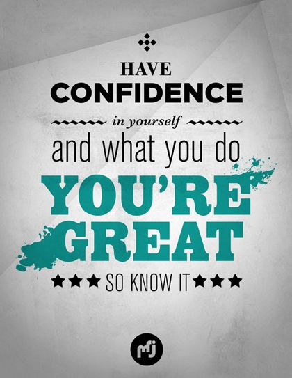 HAVE A #CONFIDENCE IN #YOURSELF! | Inspiration and Motivation ...