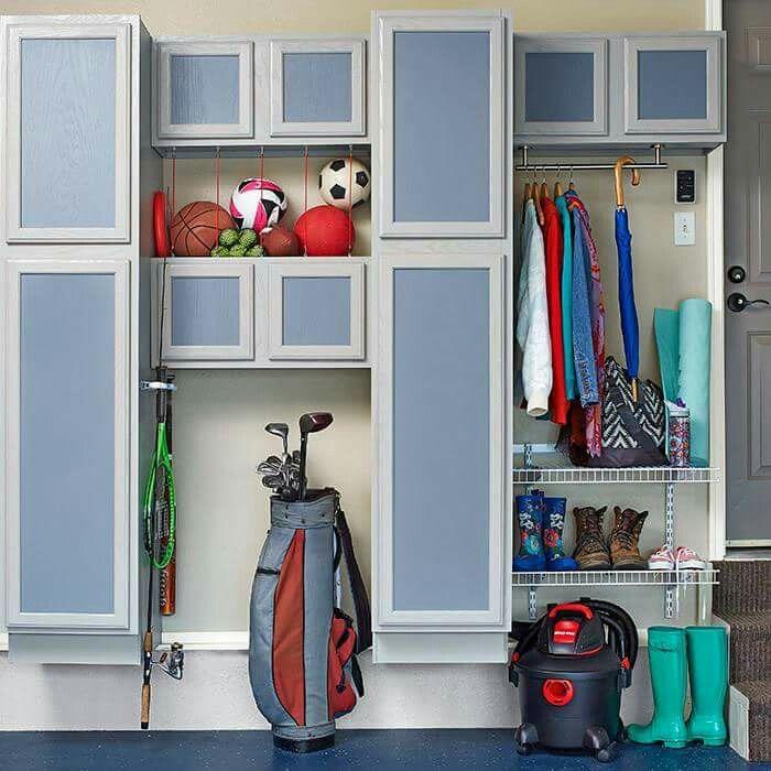 GARAGE STORAGE IDEA (from Lowe's) | Unfinished kitchen ...
