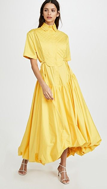 Mimosa Quilted Bubble Gown in 2020 Dresses, Gowns, Fashion