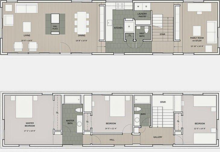 planos de casas modernas 2014