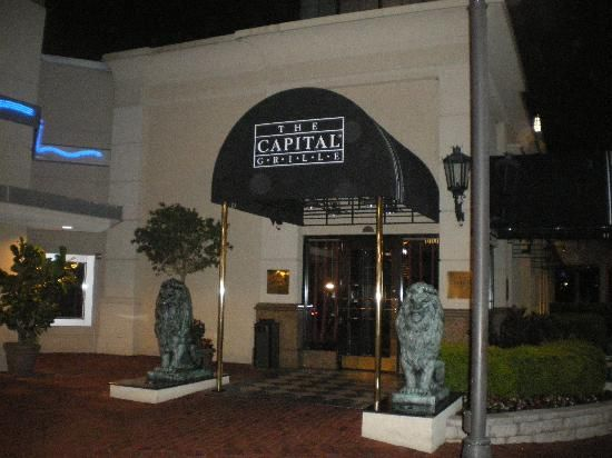 The Capital Grille Restaurant Entrance This Is A Great In Orlando Elegant Service Delicious International Drive But Definitely Not