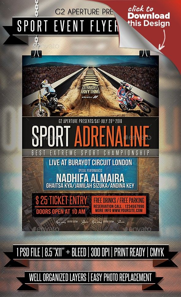 Sporting event flyer tempalte erkalnathandedecker sport event flyer poster event flyers event flyer templates and maxwellsz