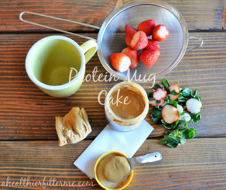 Easy Protein Mug Cake Recipe #recipes #fitfluential #healthy #protein #fatloss #weightloss #sweatpink #tiuteam #tiumeals #mugcake #proteinmugcakes
