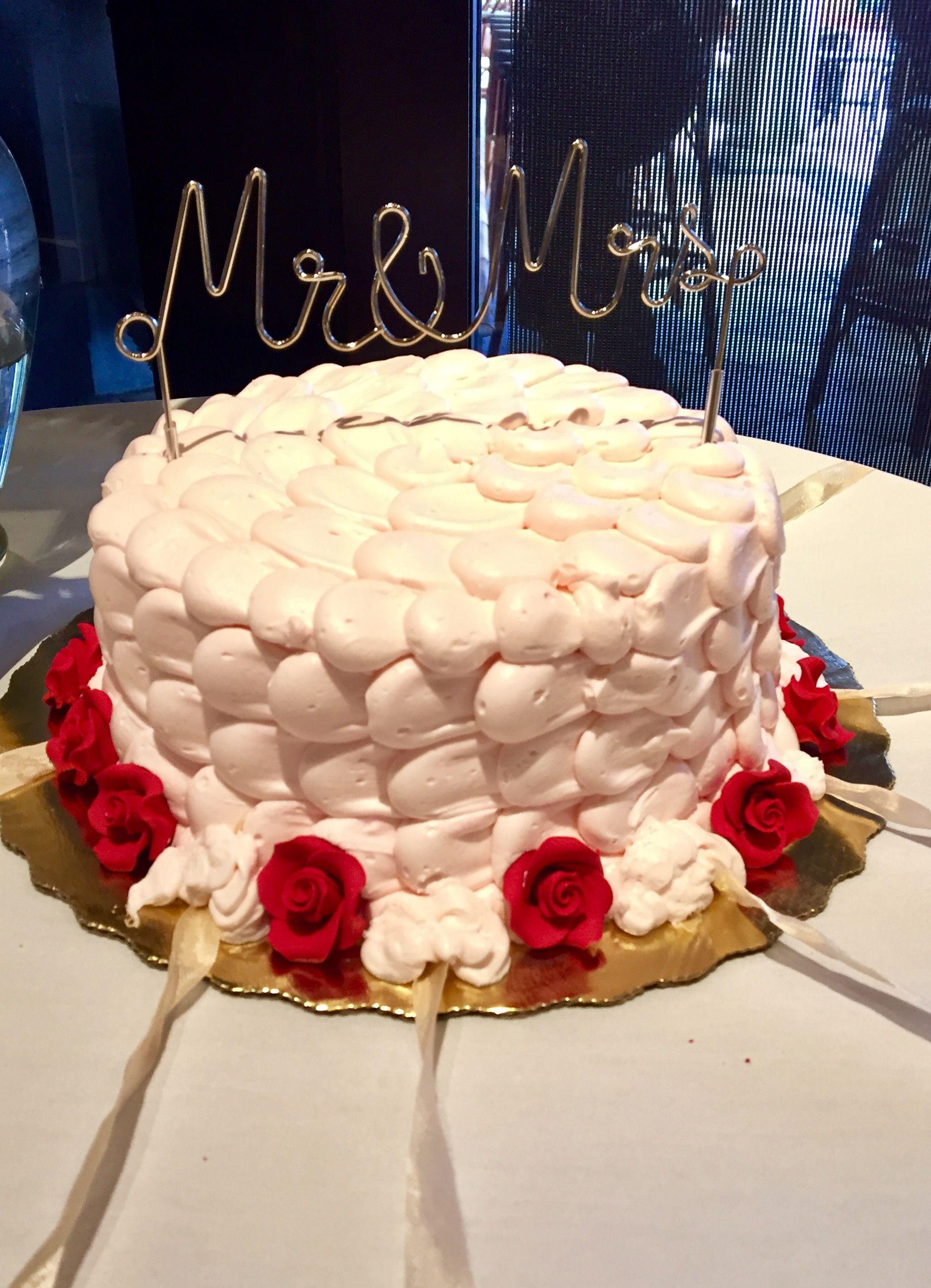 Bridal shower cake pull