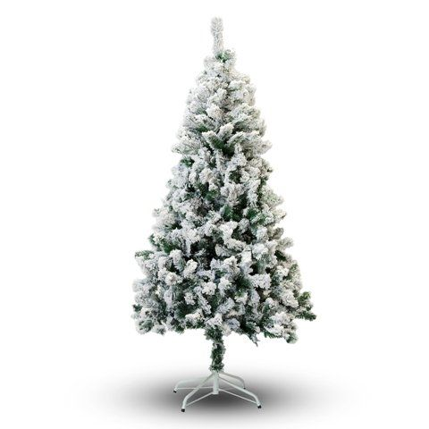 Perfect Holiday Christmas Tree 8Feet Flocked Snow * You can get