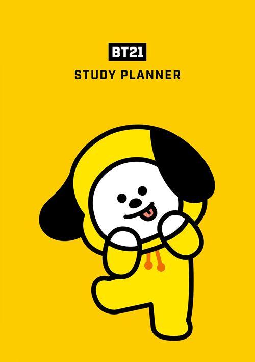 BTS Bangtan Study Planner Scheduler BT21 Chimmy