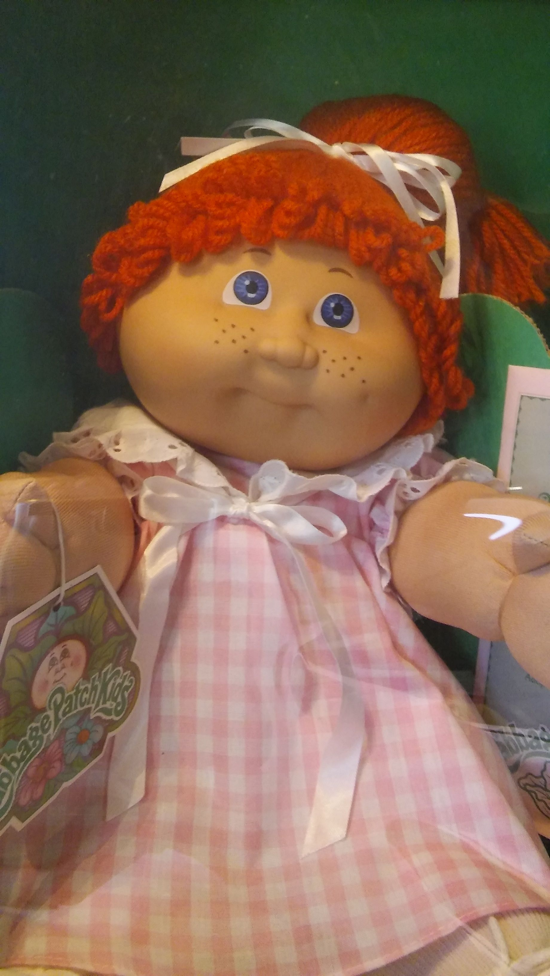 1985 Cabbage Patch Kid Know As Kasmira Myra She Has A Red Pony Tail Blue Eyes And Adorable Cabbage Patch Kids Dolls Cabbage Patch Dolls Cabbage Patch Kids
