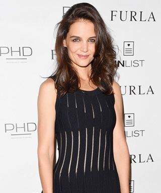 #KatieHolmes in #AzzedineAlaia from #InStyle