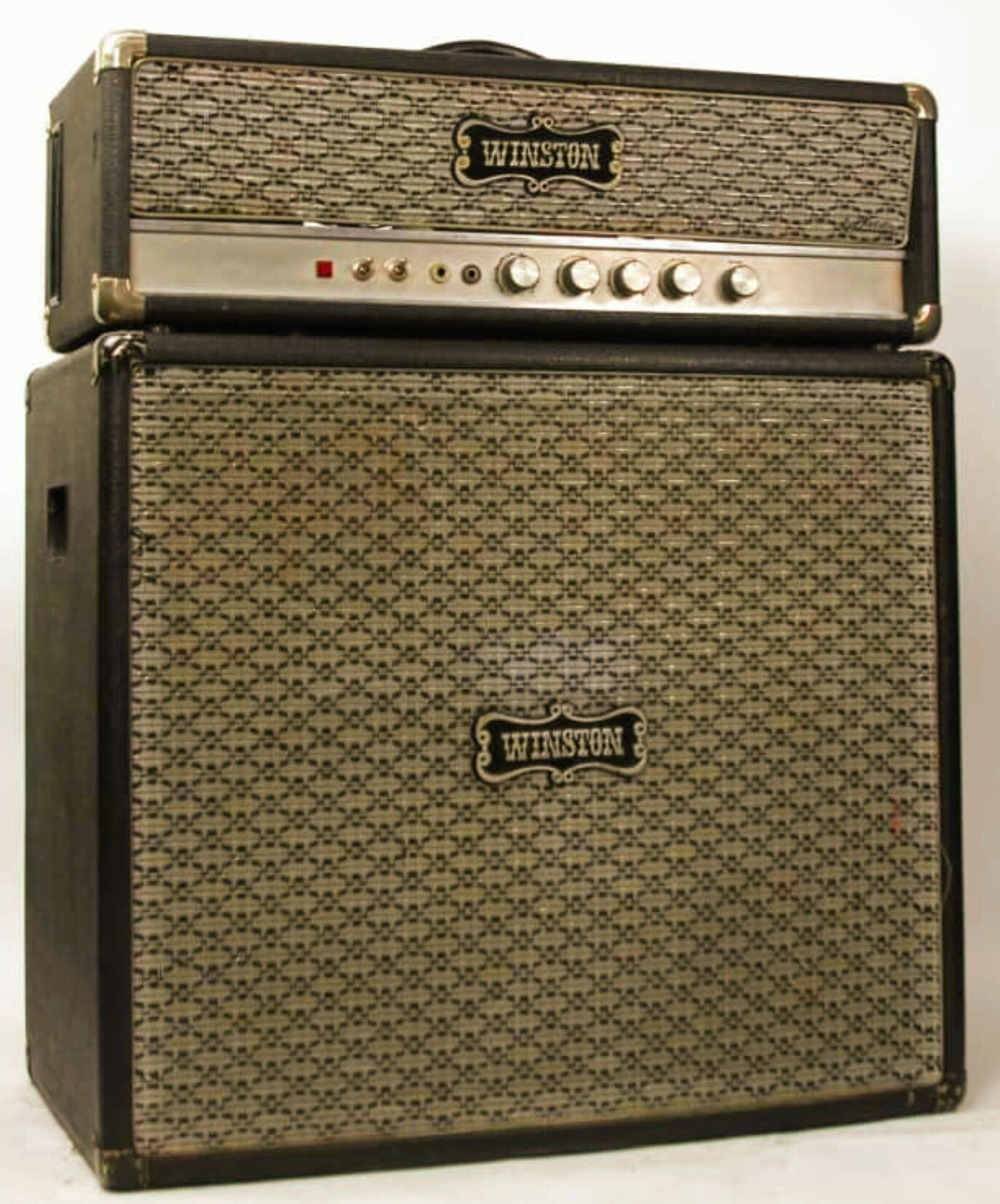 1970 winston ba 200  made by echolette (de) germanium ss pre- amp w/ four  el34 & two 85 watt 12inch fane speakers  great early hiwatt sound  save  schematic
