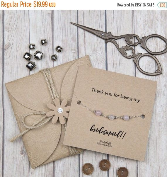 Offer Thank You Bridesmaid