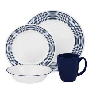 Corelle Vive Newport Beach 16 Piece Dinnerware Set  sc 1 st  Pinterest & Corelle Vive Newport Beach 16 Piece Dinnerware Set | Corelle ...