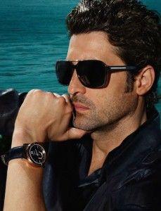 Patrick Dempsey Wearing Versace Sunglasses For Men Male