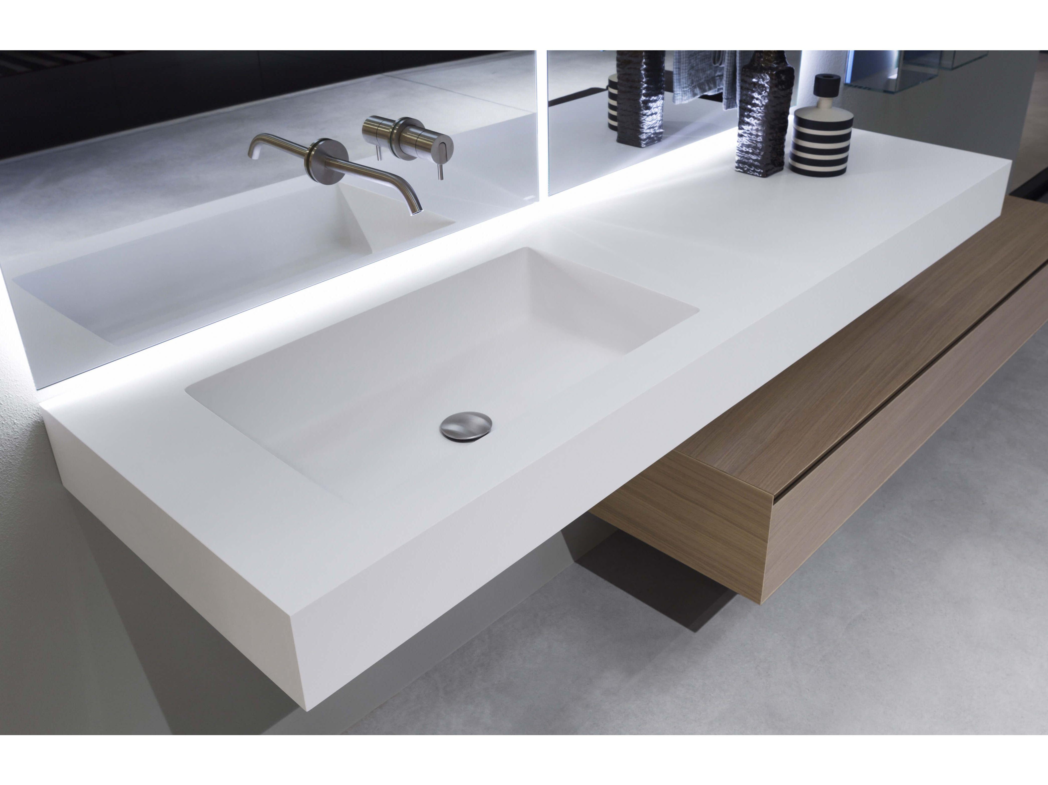 Encimera de lavabo de Flumood® NIDO by Antonio Lupi Design® diseño ...