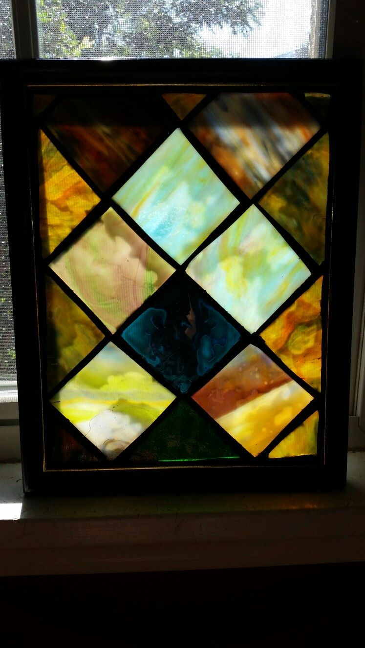 stained glass mosaic panel by chanda froehle more at www facebook
