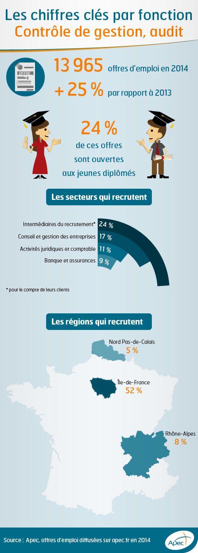 Infographie Fonction Controle De Gestion Audit Ressources Humaines Offre Emploi Et Emploi