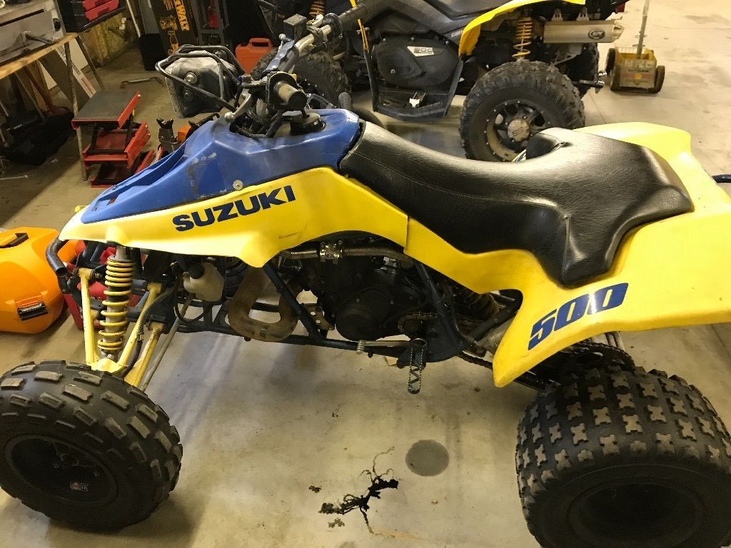 medium resolution of suzuki 1989 lt500r lt 500 r quadracer quad racer quadzilla