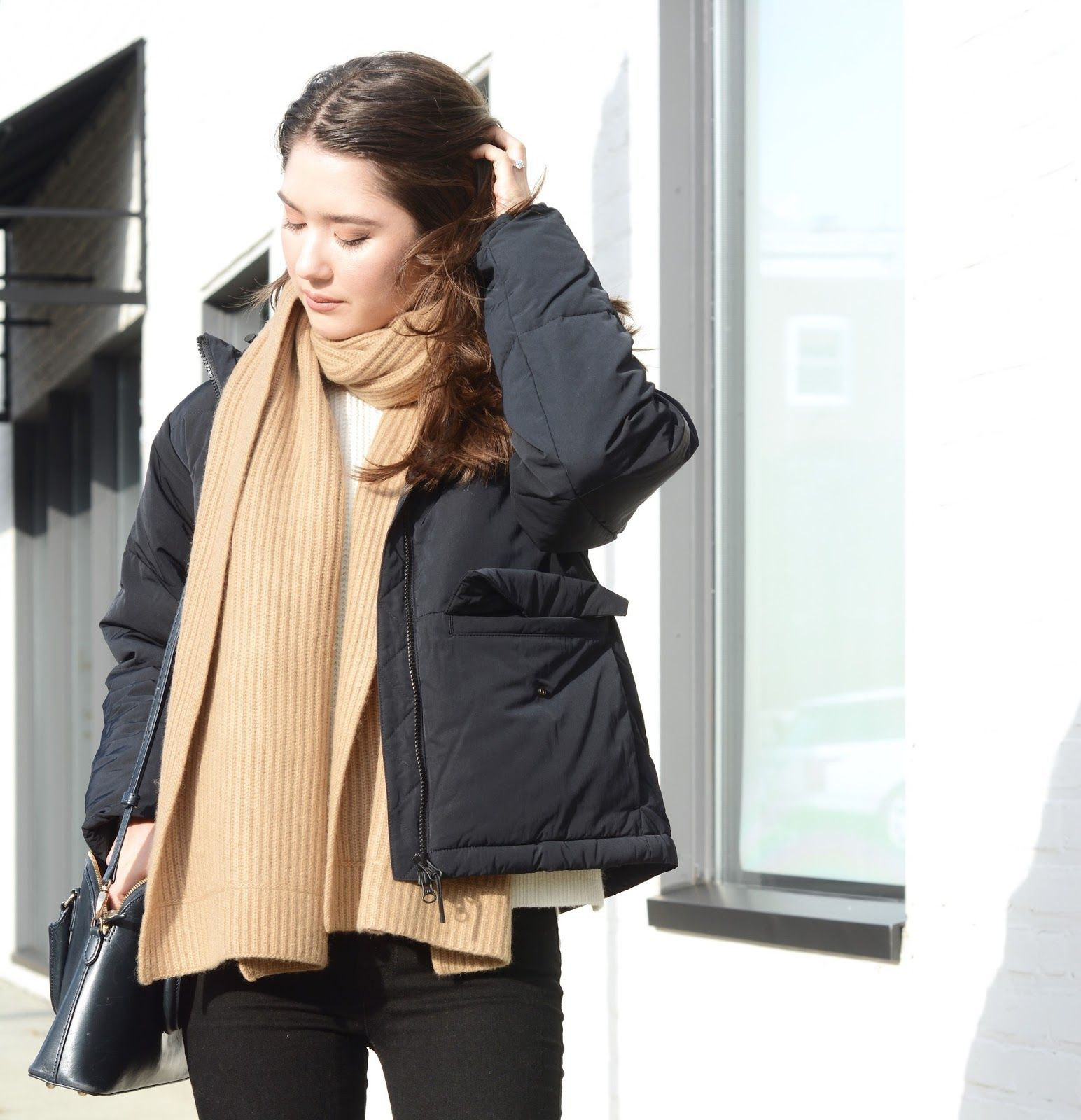 517678d5580 Everlane Short Puffer Jacket Review Photos Sizing Fit Petite