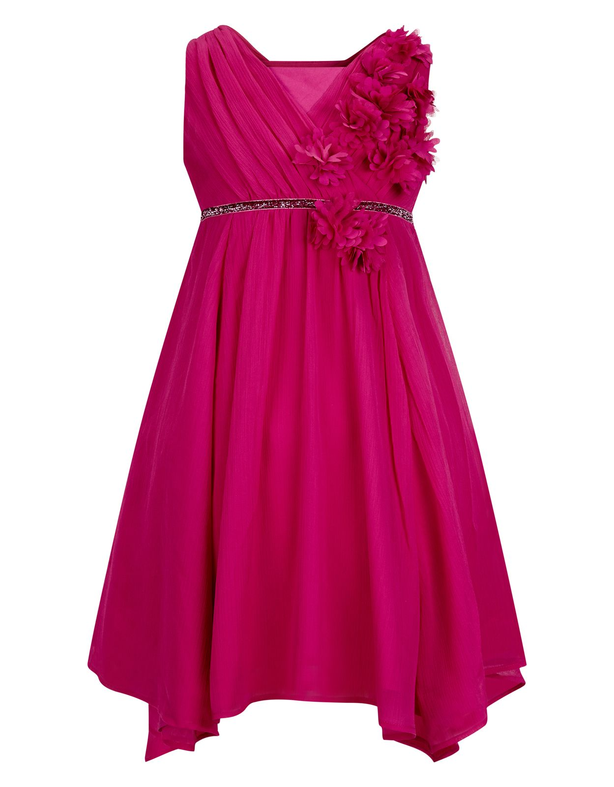 Natalia Dress | Pink | Monsoon | Looks de fiesta for Kids | Pinterest