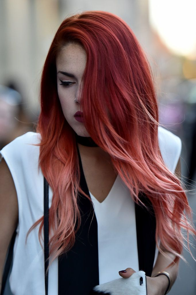24 Fashion Girls Who Dare to Wear Rainbow Hair on the Streets