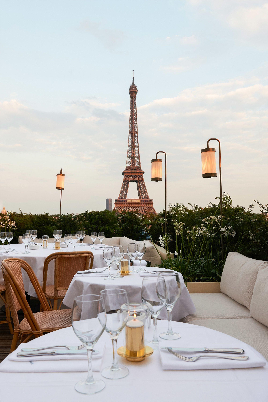 Terraza De Lujo Restaurantes Parisinos Restaurante De Lujo Lugares De Paris