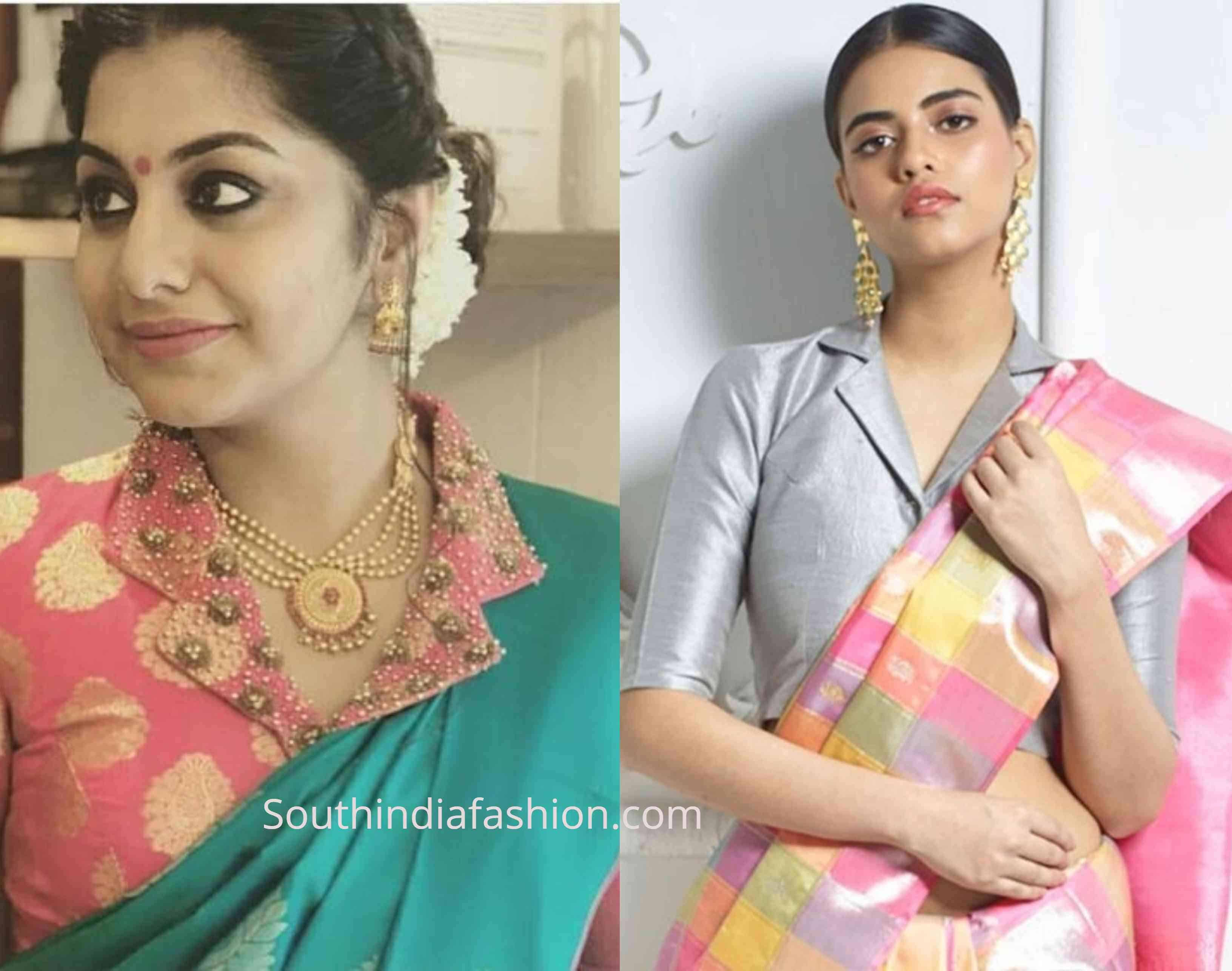 New Blouse Designs 2019 Latest Silk Saree Blouse Designs Saree Blouse Designs Silk Saree Blouse Designs New Blouse Designs