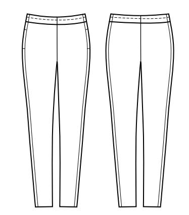 Schicke Hose mit Gummizug | Nähtalente