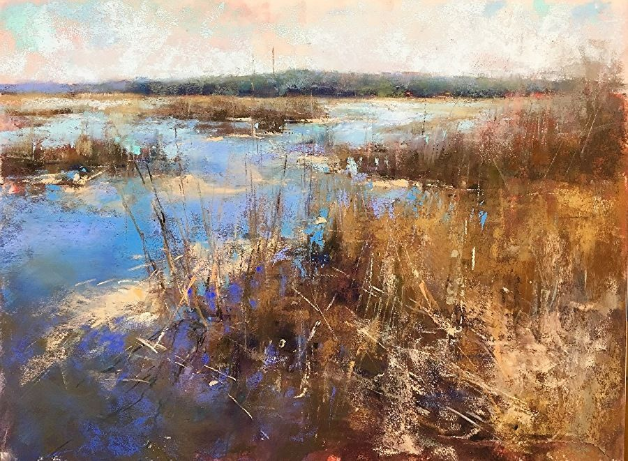 Related image Oil painting landscape, Pastel landscape