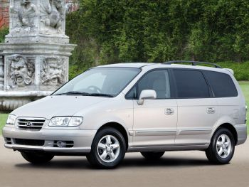Hyundai Trajet Uk Spec Fo 2004 08