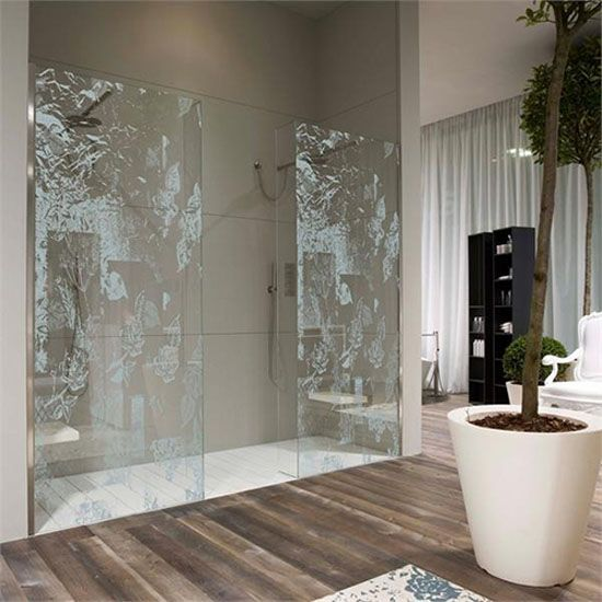 paroi-douche-italienne Salle de bain Pinterest Decoration - Bathroom Glass