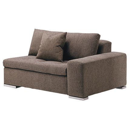 lazar valentino sectional one arm loveseat mm134158