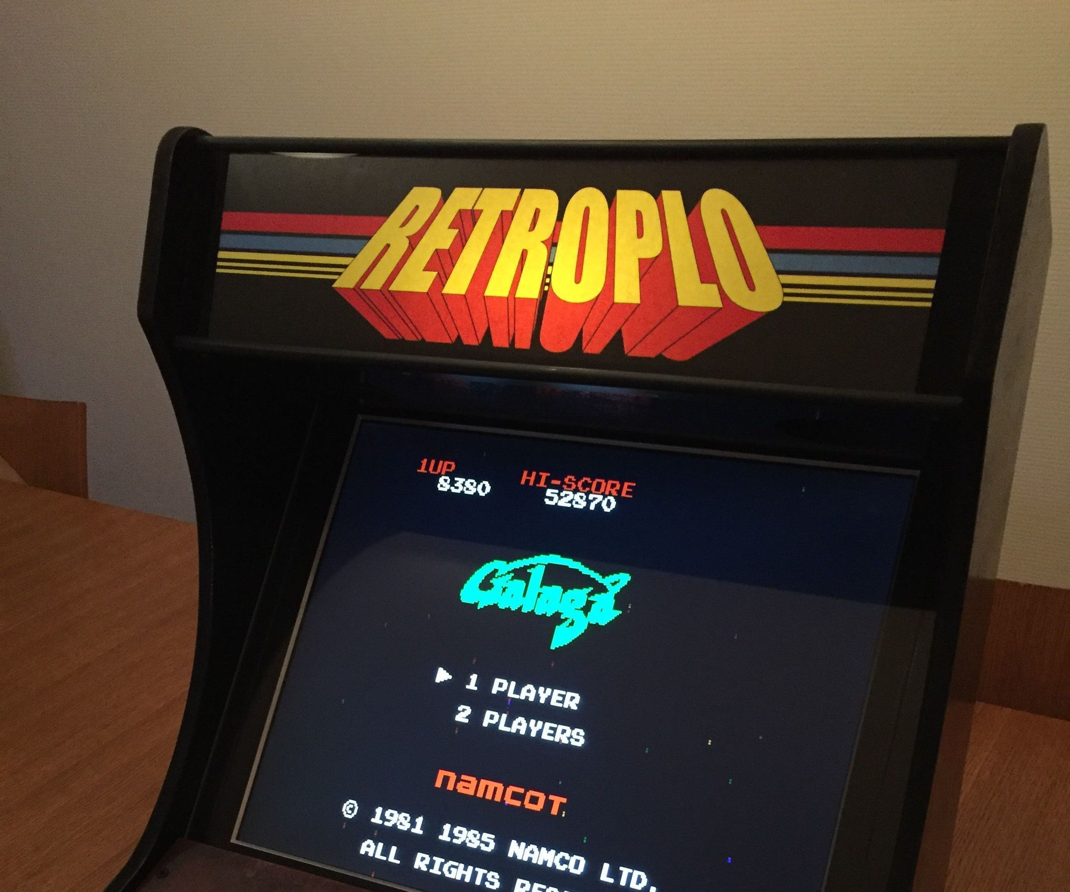 DIY Retro Arcade Bartop for One Player | pi as in the small