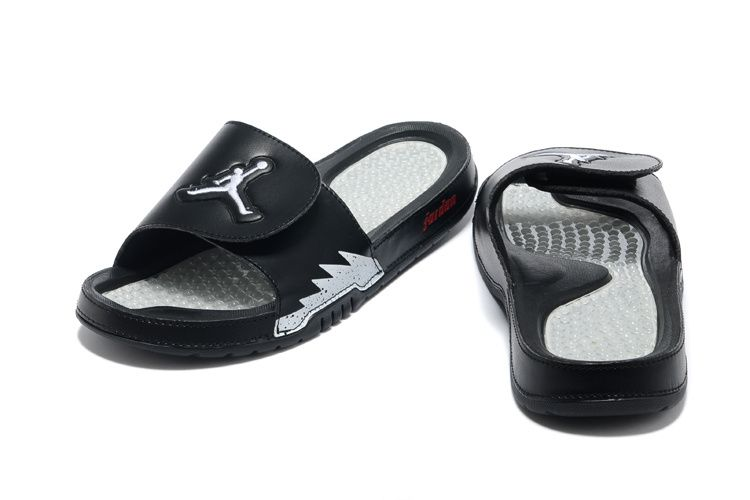 nike air jordan hydro 5 slide sandals black white sneakers p 3595