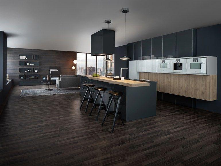 Kitchen With Island Synthia Ios Largo-Lg By Leicht Küchen | Modern