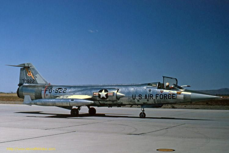 F-104C 57-922 back in 1964 (479TFW), In 1967 it was lost