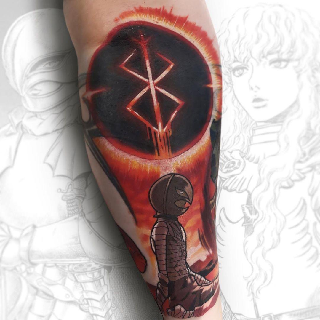 Griffith And Eclipse From Berserk Berserk Berserktattoo Griffith Griffithtattoo Animetattoo Anime Animeink Animemas Tatuagem Ideias De Tatuagens Tatoo