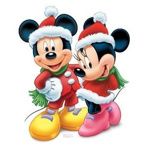 christmas mickey and minnie disney disney minnie. Black Bedroom Furniture Sets. Home Design Ideas