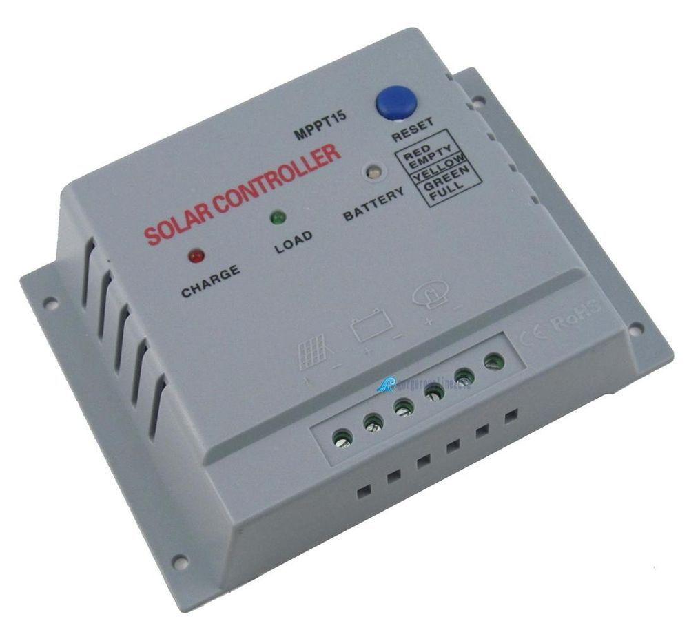 10a Mppt Solar Panel Regulator Charge Controller Power Converter 12v 24v Auto Solar Solar Panels Solar Battery