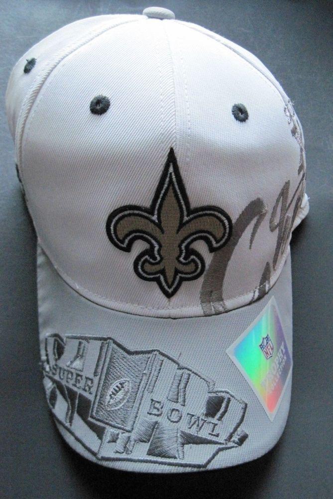 a9fed5df8 Reebok Men s NFL Super Bowl XLIV Champions New Orleans Saints Cap Hat New   Reebok  NewOrleansSaints