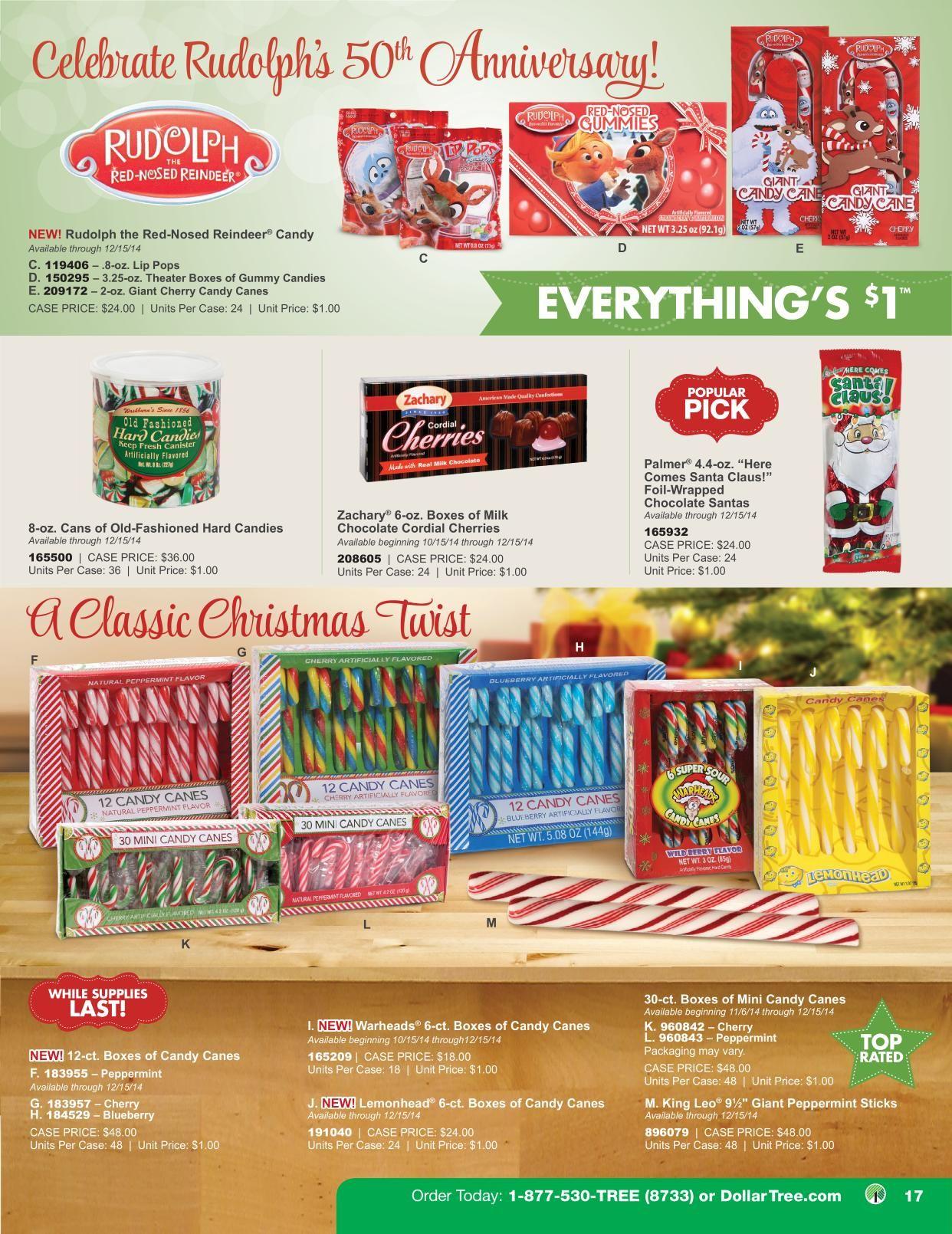 Dollar Tree Holiday Catalog 2014 Rudolph S 50th Anniversary
