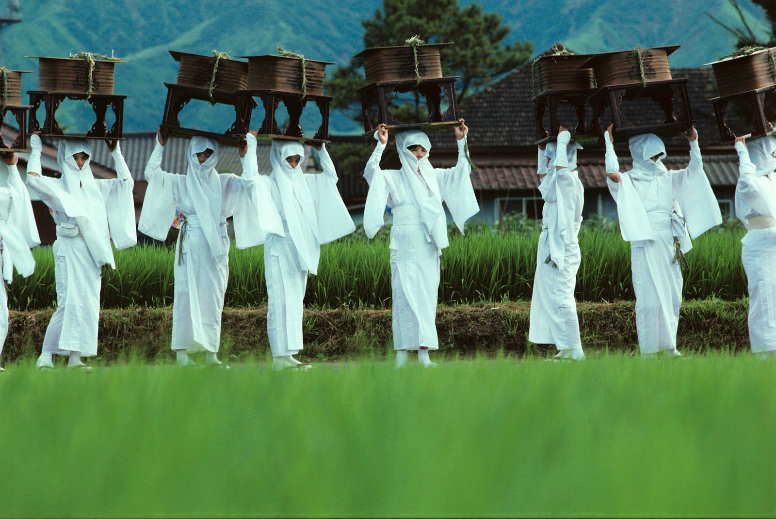 Onda Festival of Aso Jinja.