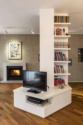 Soggiorno: Idee, immagini e decorazione | Columns decor, Columns and ...